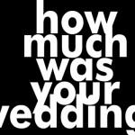 Ngân sách cho đám cưới!