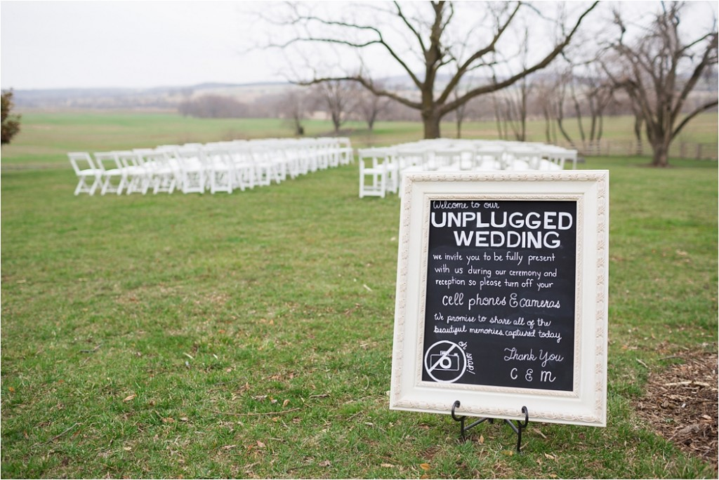 Unplugged Wedding #4